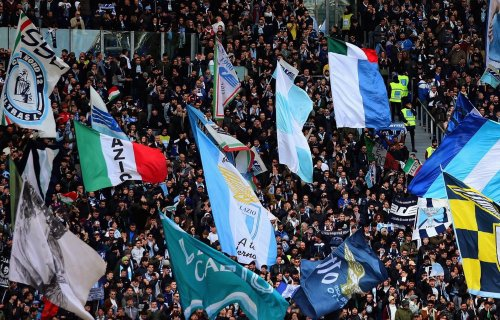 Lazio Choreography at the Stadio Olimpico, Source- Official S.S. Lazio