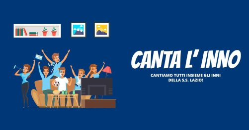 'Canta L'Inno', 'Sing the Athem'
