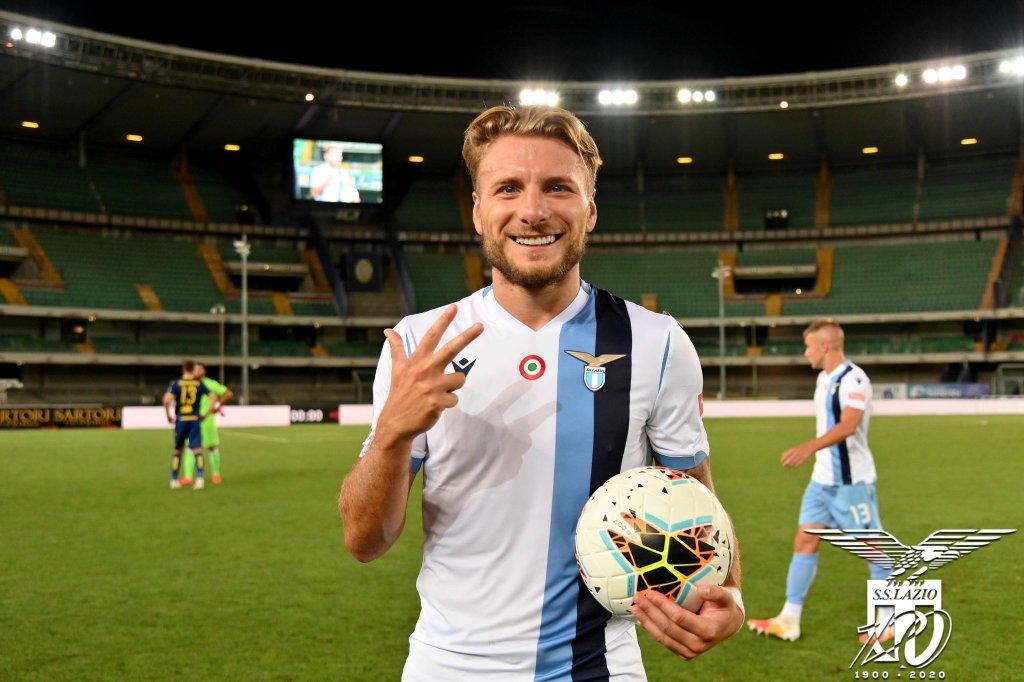 2019/20 Serie A, Hellas Verona vs Lazio, Ciro Immobile, Source- Official S.S. Lazio