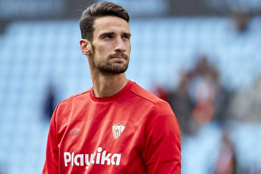 Sergio Rico Playing With Spanish La Liga Side Sevilla FC, Source- Getty Images