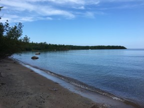 photo of beach at awenda provincial park