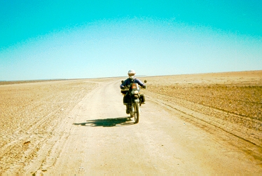 wide open spaces and solitude interupted only by an internal combustion engine