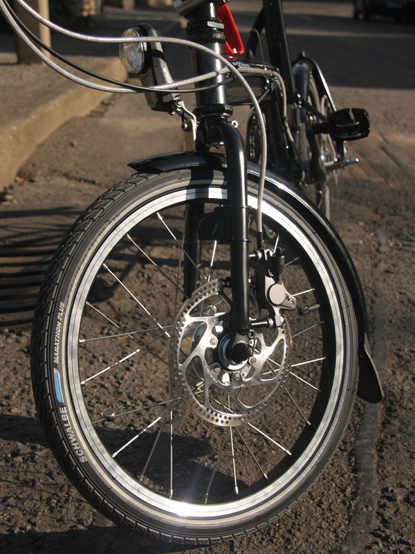 A Tikit with disc brakes.