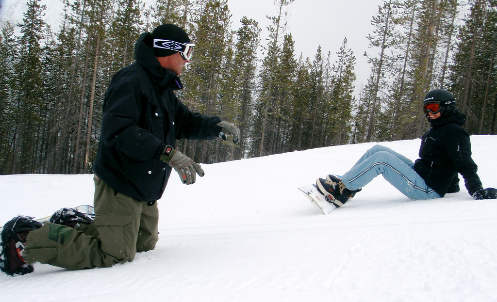 """There is no snowboard Grasshopper - there is only you!"""
