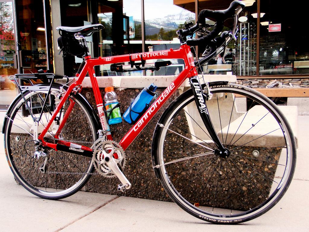The SA saddle on my BBC cross bike.
