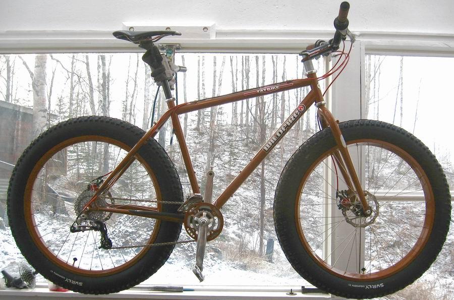 A Wildfire Fat Bike - lovely!
