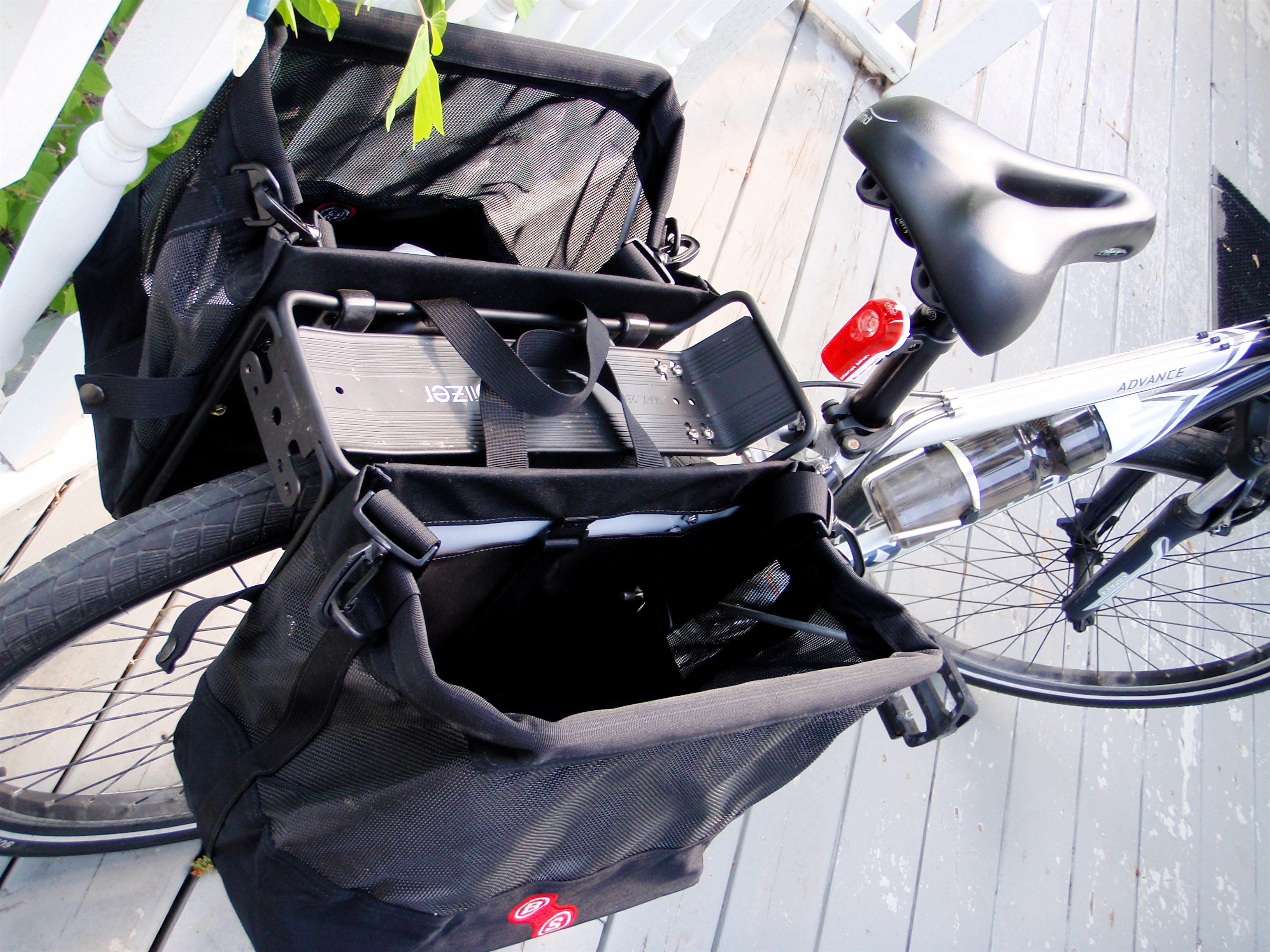 Jandd Panniers Top View
