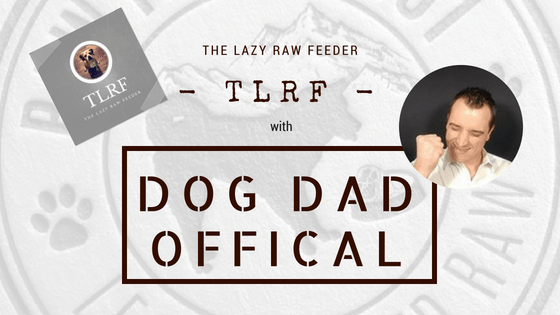 the lazy raw feeder with dog dad offical
