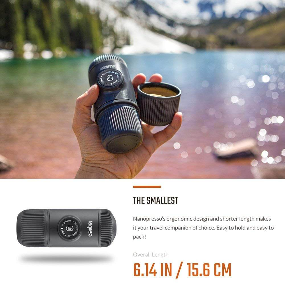 Nanopresso lazy eco-friendly camping gift