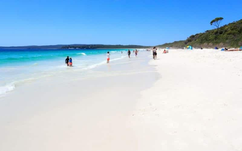 Lazy weekend at Hyams beach Jervis Bay