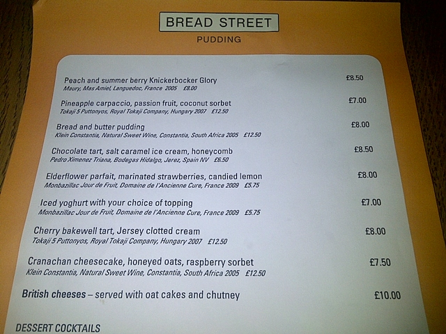 bread street kitchen
