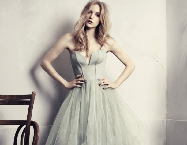 h&m conscious tulle dress