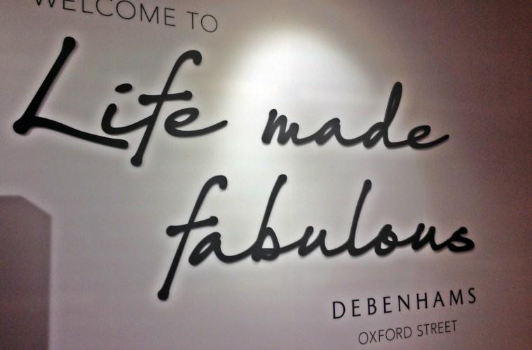 Debenhams Oxford Street Store Fabulous Fortnight
