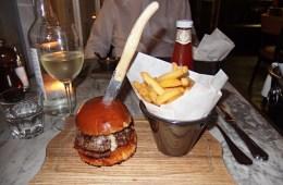 Burger at Lanes of London