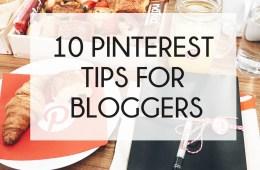 10 Pinterest Tips For Bloggers