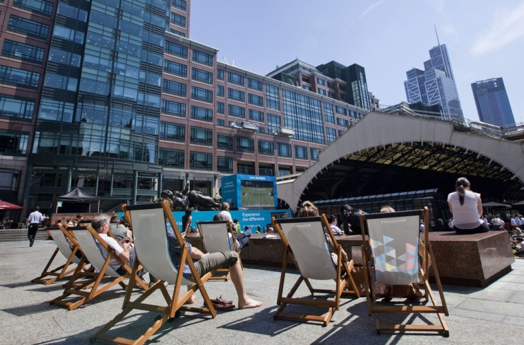 Broadgate Summer Live in the City