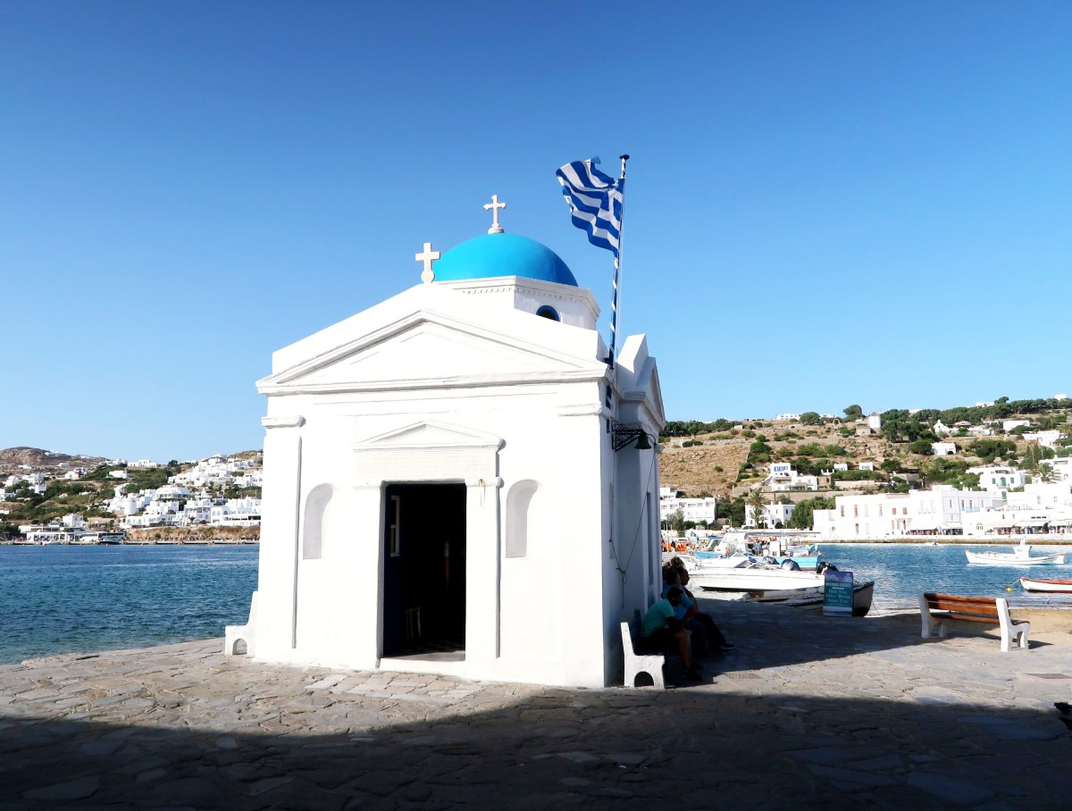 Mykonos Greece Blue and White
