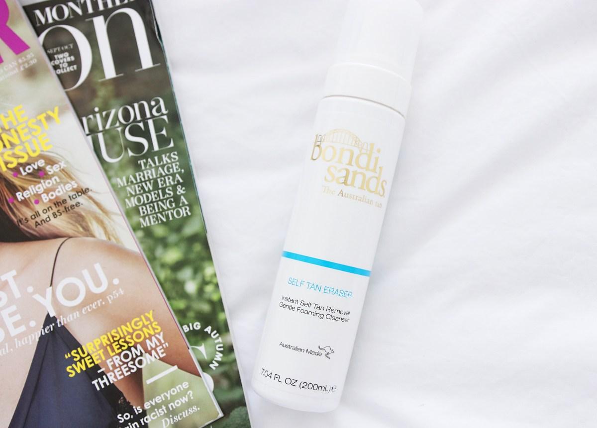 Bondi Sands Tan Eraser Review - Beauty Blog UK
