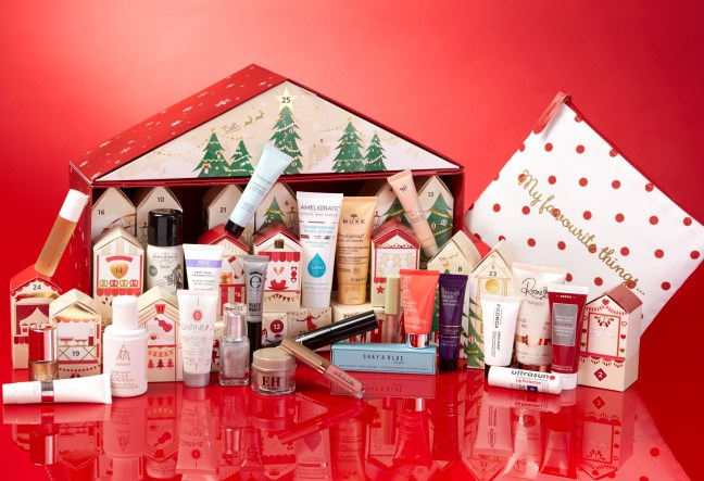 Marks and Spencer Beauty Advent Calendar 2017 - Beauty Blog - The LDN Diaries