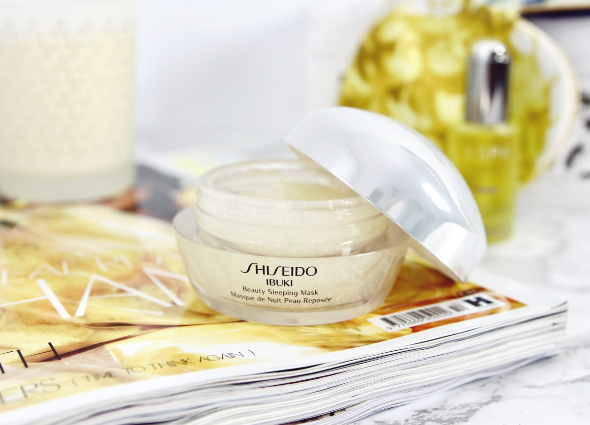 Shiseido Sleeping Mask Review