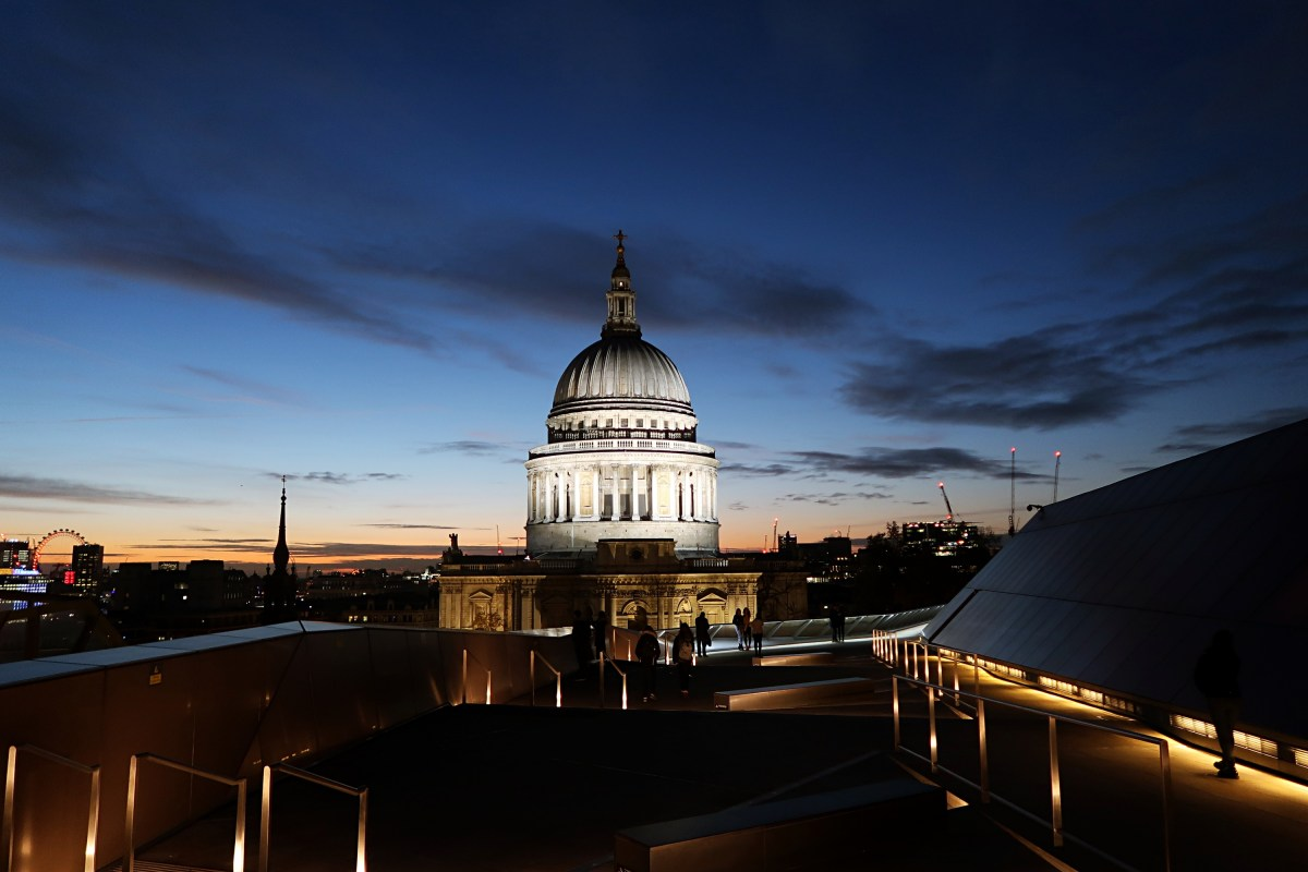 St Pauls Cathedral from One New Change