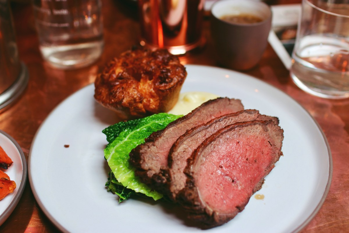 Sunday Roast Boxcar Boxcar Butcher & Grill Marylebone Review