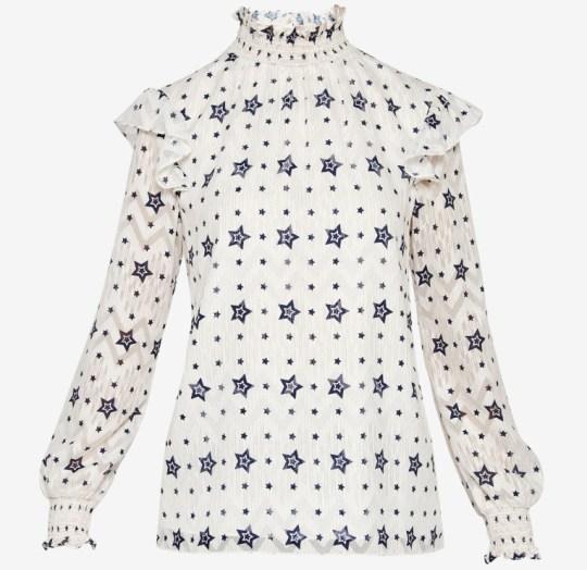 Ted baker stars blouse