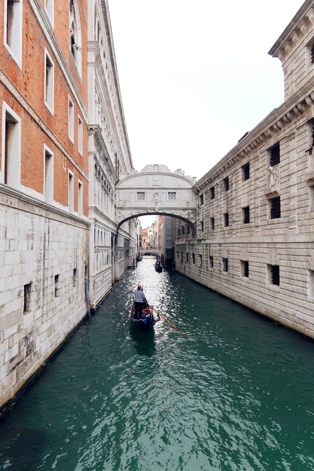 Bridge of Sighs Venice The LDN Diaries Travel Blogger