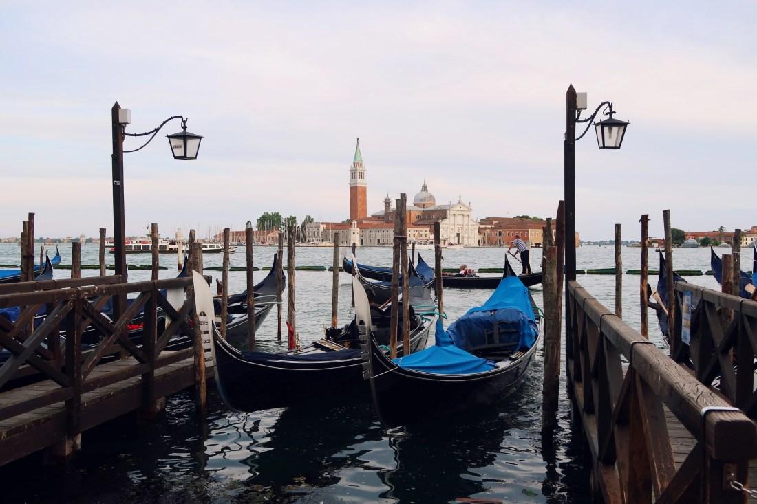 Gondolas Venice San Marco