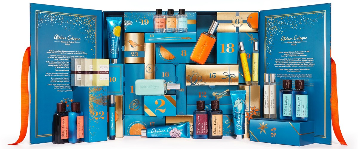 Atelier Cologne beauty advent calendar 2019 - The LDN Diaries