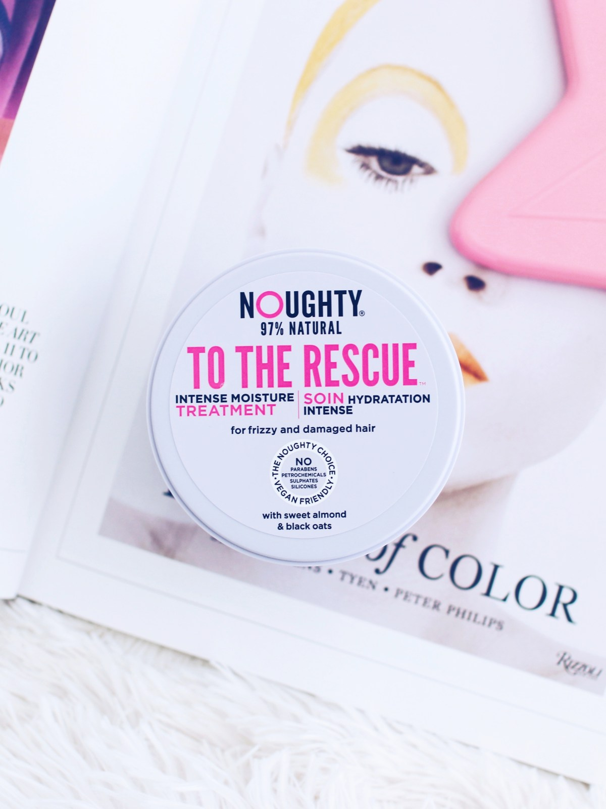 Noughty To The Rescue Hair Mask Review - The LDN Diaries