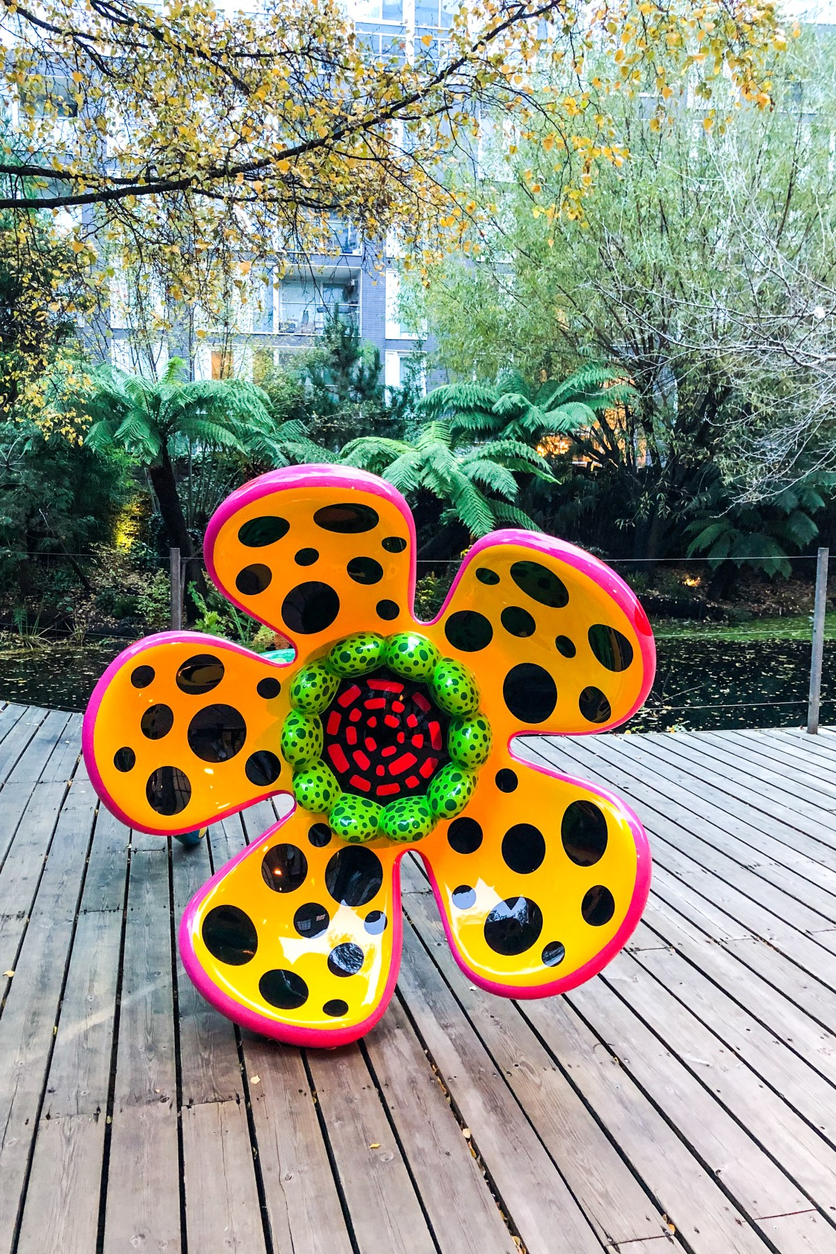 Yayoi Kusama Exhibition London - The LDN Diaries London Lifestyle Blog