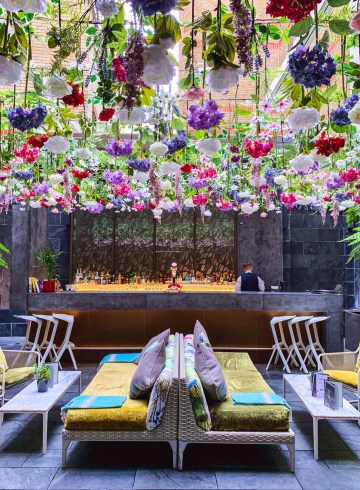 South Place Hotel Enchanted Garden Bar - The LDN Diaries