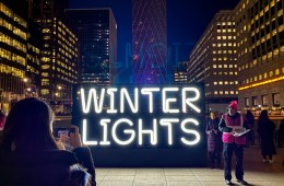 Winter Lights Festival 2020 Canary Wharf - The LDN Diaries
