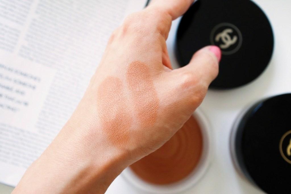 Chanel Healthy Glow Bronzing Cream Swatch