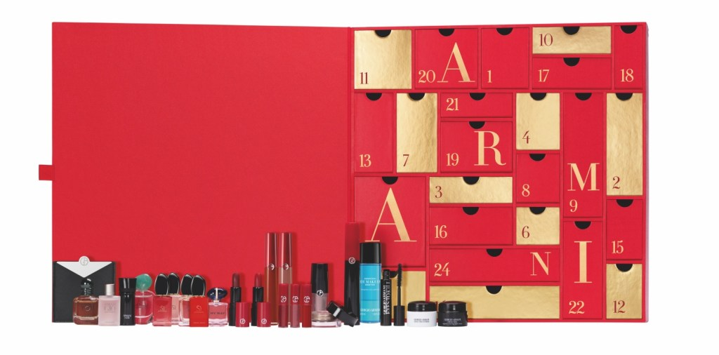 Armani Beauty Advent Calendar Contents 2020