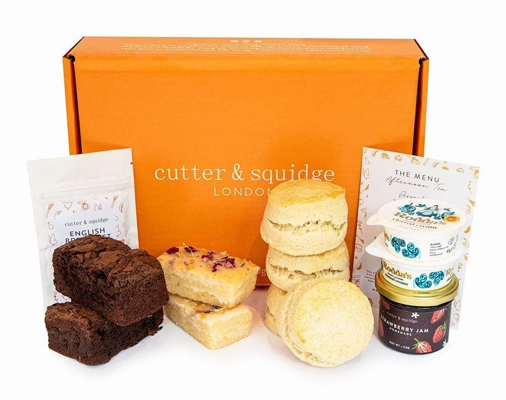 Cutter & Squidge Afternoon Tea At Home Box
