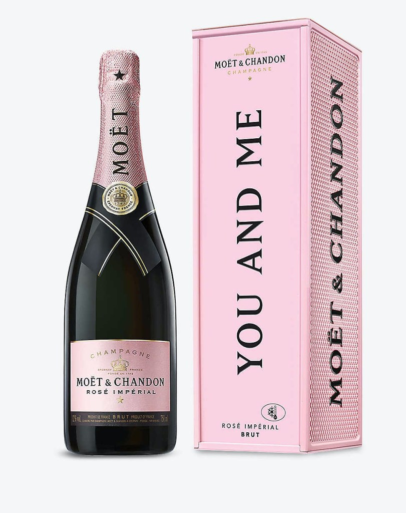 Moet Personalised Bottle