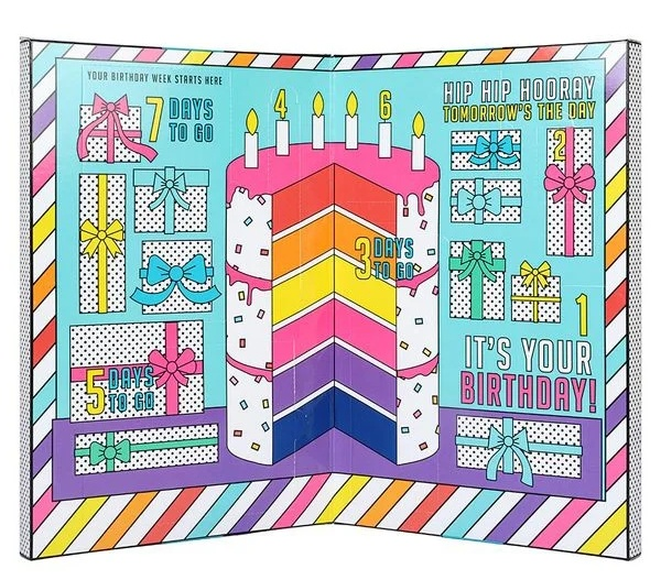 Paperchase Birthday Countdown Calendar