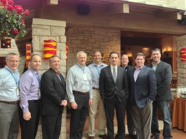 Vistage group with Daniel Pink