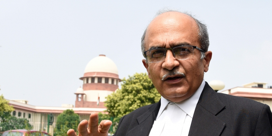 SC imposes Rs 1 fine on Prashant Bhushan; says he paid no heed to requests to apologize - TheLeaflet