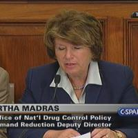 Dr. Madras giving Testimony on marijuana legality