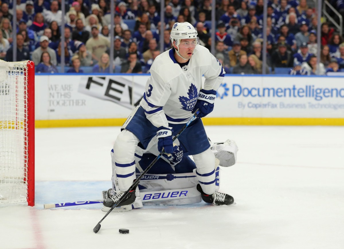 The NHL is considering having the Leafs play their playoff games in Buffalo