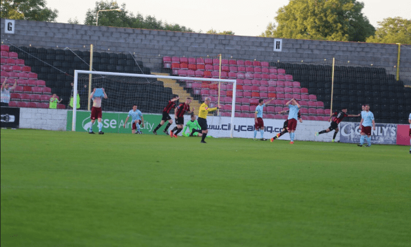 Longford Town goal Jake Kelly