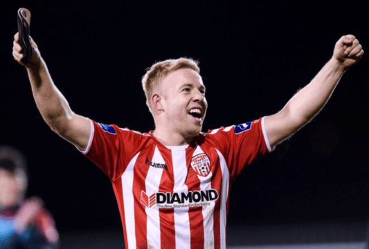 Nicky Low Derry City