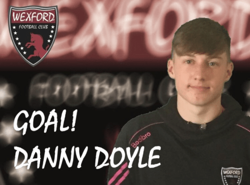 Danny Doyle Wexford FC