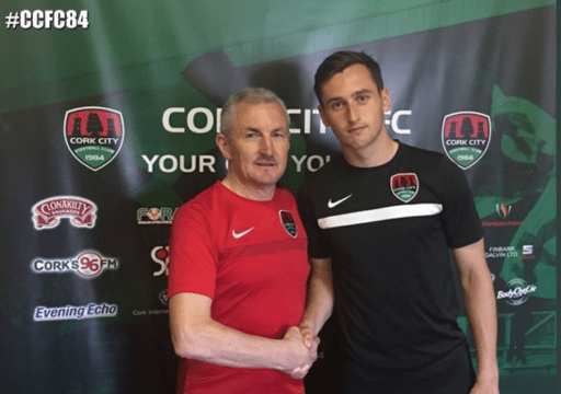 Conor McCarthy John Caulfield Cork City FC