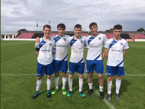 Goalscorers for Finn Harps U-17's