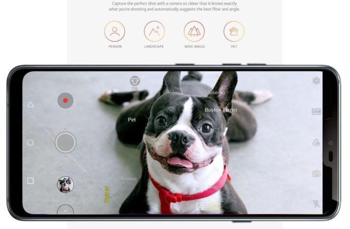 LG G7 Camera