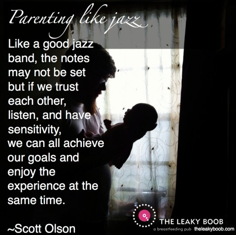 parenting like jazz